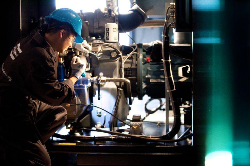 Come pianificare la manutenzione di una sala compressori