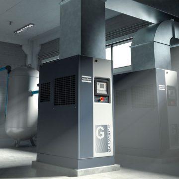 Compressori rotativi a vite a iniezione di olio